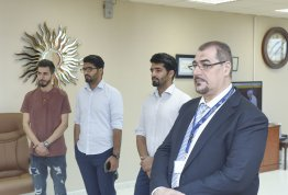 Engineering Students won in the 14 IEEE Student Day
