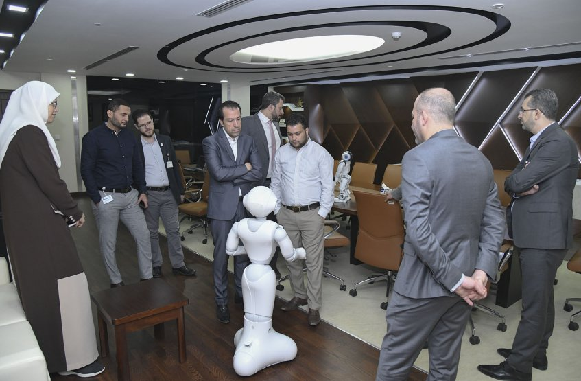 Robot's Demonstration Session
