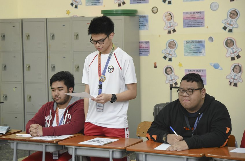 Awareness workshop for Philippine Emirates School