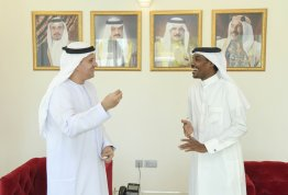 Visit of the AAU Chancellor to Embassy of the Kingdom of Bahrain
