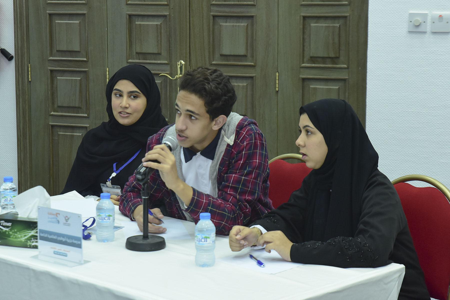 اليوم الثالث (مدرسة جزيرة أبوظبي العالمية الخاصة ضد مدرسة صقر الامارات الدولية الخاصة)
