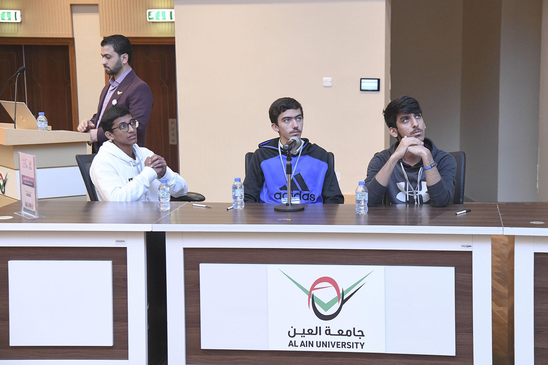 Ninth day (Ashbal Al Quds Private Secondary School VS Emirates National Schools - Mohamed Bin Zayed City)