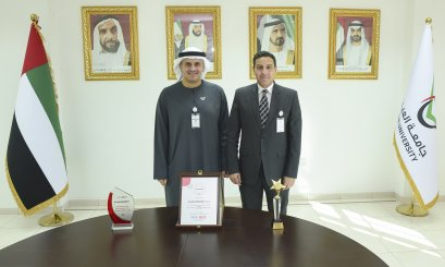 Al Ain University won 3 awards from the British Council