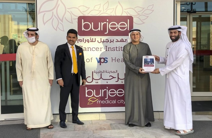 Visit to Burjeel Medical Center
