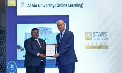 5 Stars to Al Ain University for Online Learning based in QS