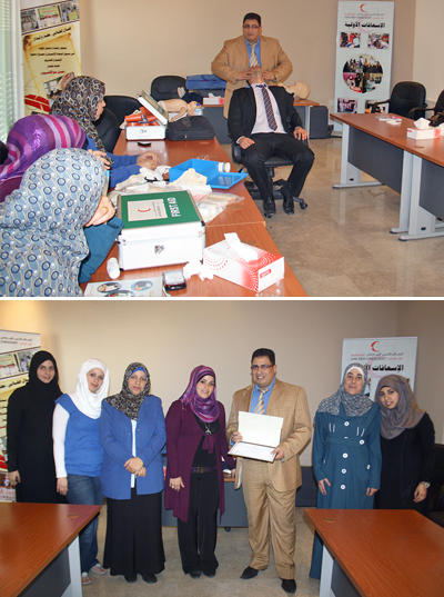 AAU and Red Crescent Organize First Aid Course