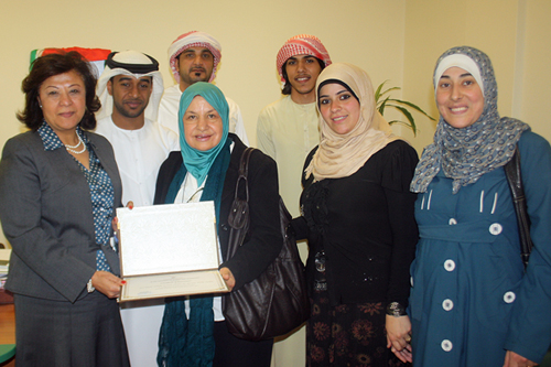 Health Awareness Week at Al Ain University