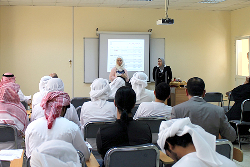 AAU Library Holds Introductory Course