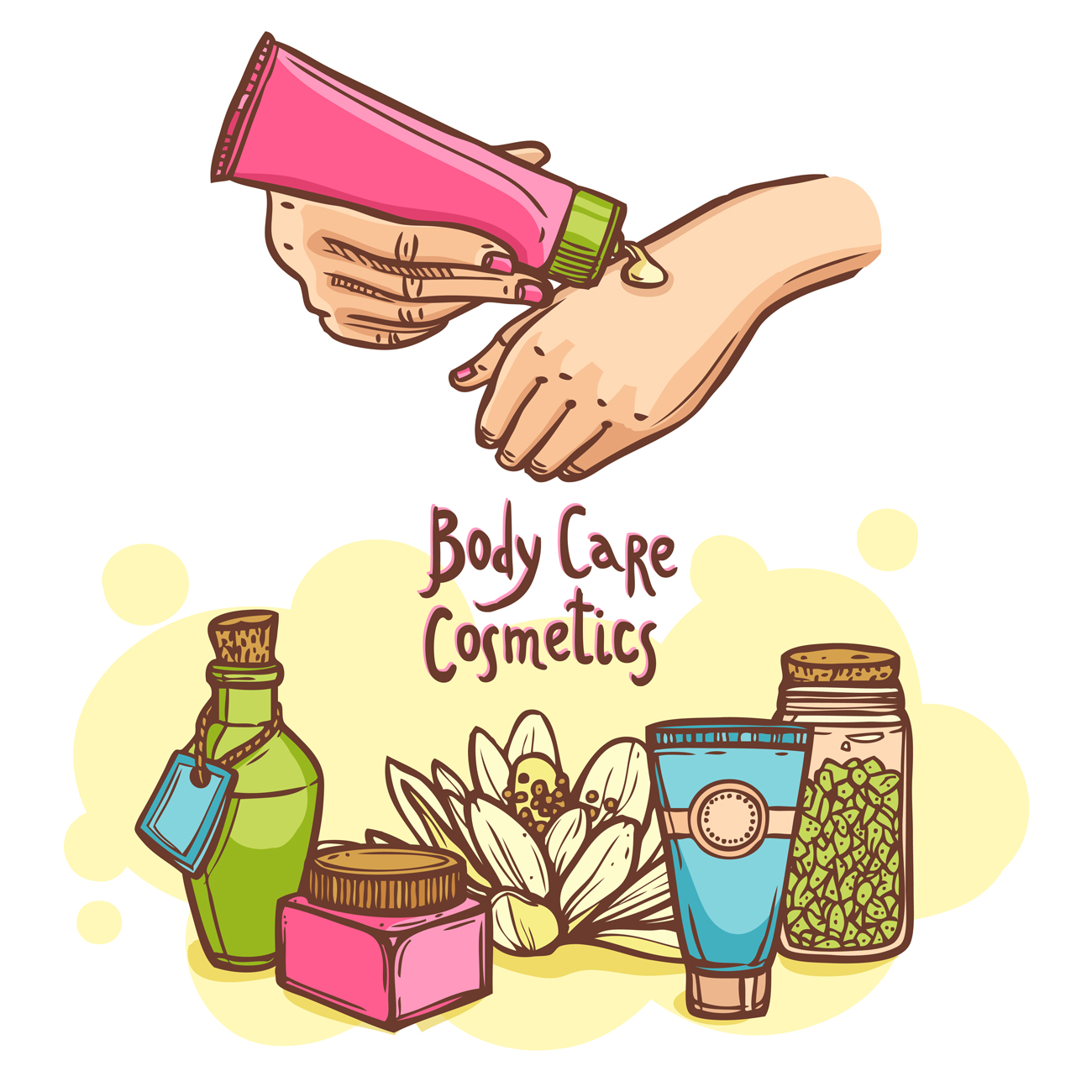 Body Care Cosmetics and the ugly truth about them