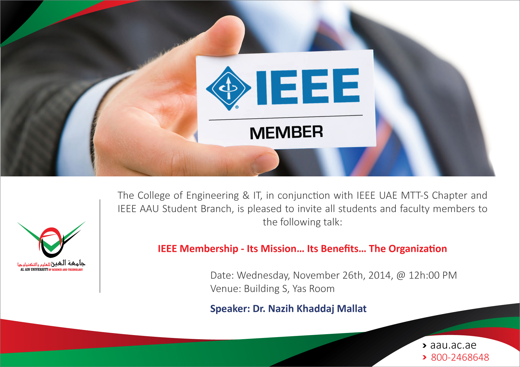 IEEE Membership - Its Mission… Its Benefits… The Organization
